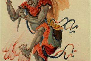 Legendy o vzniku Tangramu - Drak a bůh hromu