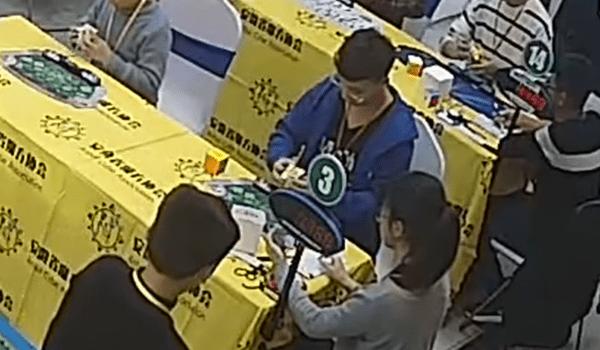 Rubikova kostka 3x3x3 Rekord